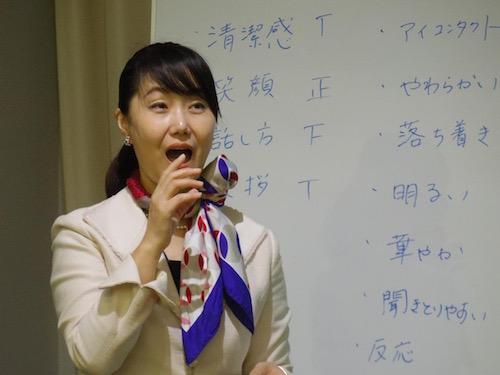 大楠博子先生(2)